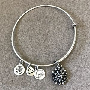 Alex and Ani Water Lily Energy Bracelet